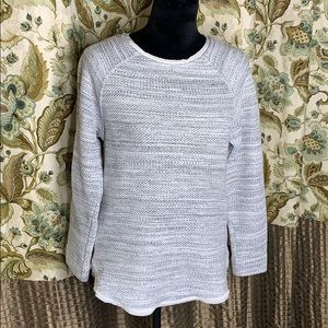 VINCE ladies marled gray sweater